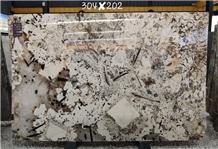 Pandora White Ivory Beige Granite Slabs Tiles New