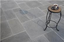 Castle Grey Brushed Finish Sandstone Tiles