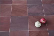 Chocolate Mandana Red Sandstone Honed Tiles