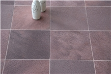 Chocolate Sandstone Textured Tiles & Slabs