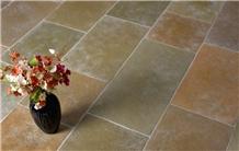 Derwent Mc Brushed Antique Limestone Tiles