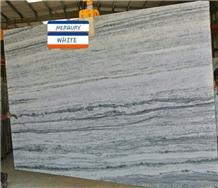 Mercury White Marble Tiles & Slabs