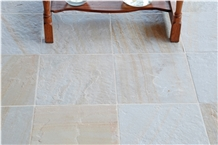 Snow Gold Quartzite Antiqued Tiles & Slabs