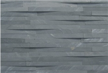 Staden Silver Blue Slate Honed Natural Stone Wall Panel