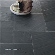 Staden Silver Blue Slate Tiles