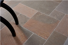 Taupe Pattern Porphyry Tiles