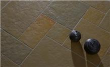 Tudor Gold Antique Limestone Tiles