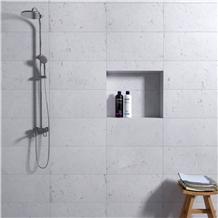Sardis Dolomiti White Marble Tiles, Slabs