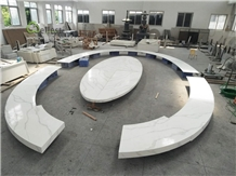 Beautiful White Quartz Countertop