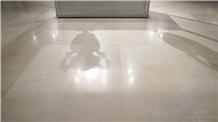 Moca Cream Medium Limestone Floor Application