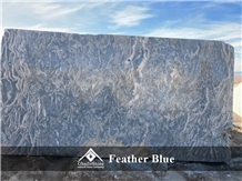 Feather Blue Marble Blocks