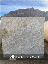 Feather Grey Marble Blocks