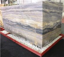 Astra Grey Marble Blocks
