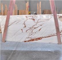 Rosso Venato Dolomite Marble Slabs