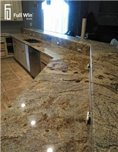 Long Size Granite Kitchen Countertop
