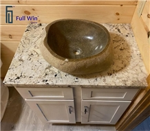 Top Sink Granite Bathroom Vanity Top