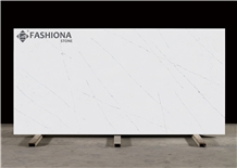 Calacatta Quartz Surface Slab Counter Top Fab716