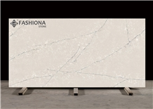 Calacatta Quartz Surface Slab for Counter Top Fab725t