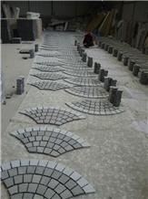 G603 Grey Sesame Grey Cube Stone Pavers Exterior Garden Floor Pavers,Cobbles