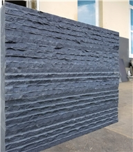 Basalt Floor Wall Installation Big Slabs