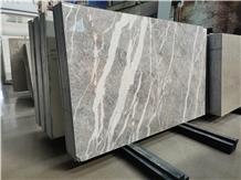 Italy Grey Fleury Fior Di Bosco Marble Big Slabs