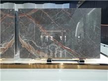 Natuarl Ombra Di Caravaggio Marble Slabs for Decor