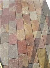 Porfido Italian Porphyry Tiles Sawn Edges