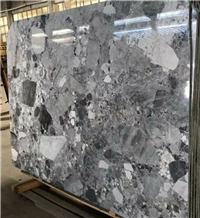 Dazzle Grey Marble Slabs