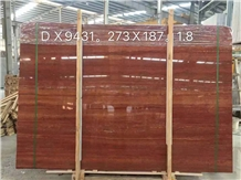 Exterior Soltan Iran Red Travertine Slabs
