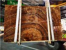 Iran Persian Marmaran Amber Onyx Slabs