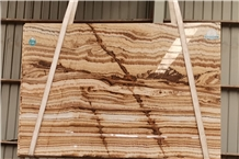 Luxury England Onyx Slabs for Project Cases