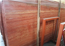 Turkey Akdag Red Travertine Slabs&Tiles