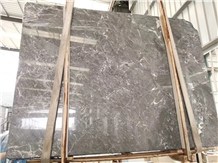 Grey Stream Marble Slab and Tiles for Project