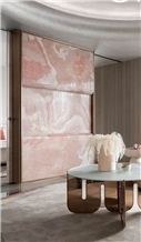 Mgt Pink Onyx Slab,Tiles for Project