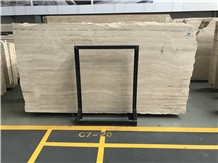Travertino Romano Slab,Tiles for Floor/Wall