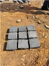 Basalt Cube Stone Outdoor Driveway Paving Sets