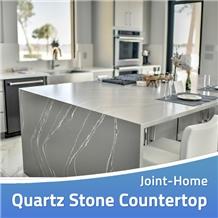 Caesarstone Noble Piatra Grey Quartz Countertops
