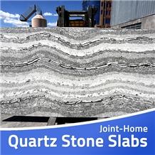 Caesarstone Stone Noble Grey Savoie Quartz Slabs