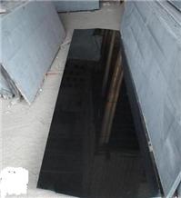 Cheap Absolute Black Granite Flooring Tiles Slabs