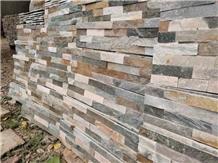 Cheap Multicolor Slate Wall Cladding Culture Stone