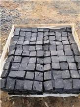High Quality Black Granite Cube Floor Paver Stone