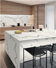Quartz Engineered Stone Prefab Countertops