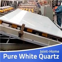 Stellar Super Pure Muscat White Zeus Quartz Slabs