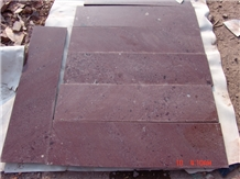 Porphyry Red Porfido Tiles Polished Paving