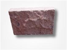 Porphyry Red Rosa Porfido Pavers Split Cobbles
