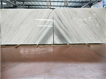 Bookmatched Guangxi White Marble Slabs&Tiles