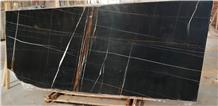 Laurent Black Marble Slabs & Tiles