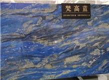 Blue Jeans Marble Slabs, Tiles