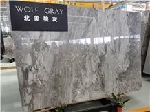 Flooring Grey Wolf Chinese Marble Slabs & Tiles