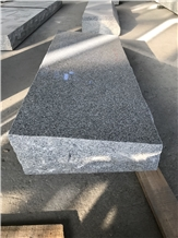 G633 Gray Polished Granite Slant Marker Memorials